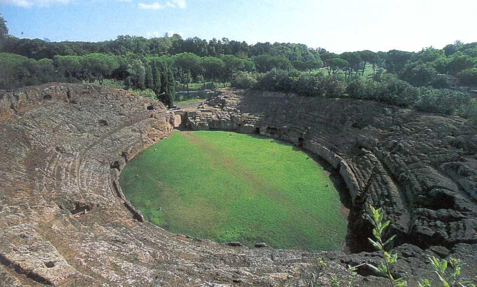 Anfiteatro - Sutri